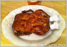 Slow Roasted Duck Recipe w/ Passion Fruit Glaze (also delicious on pork)