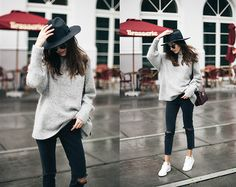Street style i like - mặc gì mùa cóng katty gal style i like Rainy Day Outfit For Spring, Cute Rainy Day Outfits, Cute Outfits With Jeans, Outfits With Hats, Night Outfits, Outfit Of The Day, Casual Outfits, Summer Outfits, Fashion Outfits