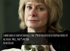 So true!! I was up until 5am reading Speaking in Bones.