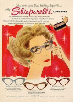 Schiaparelli (Glasses) 1953 Rosabé