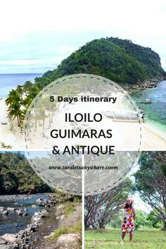Iloilo-Guimaras itinerary for 5 days, with day trip to Antique (Philippines)   Islas de Gigantes   Gigantes Islands   Cabugao Gamay   kawa hot bath