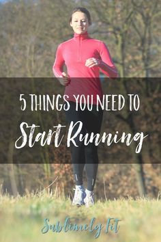 Five things you need to start running: a list of five essential items that new runners need to become successful runners. How To Start Exercising, How To Start Running, How To Run Faster, Running On Treadmill, Running Gear, Running In The Dark, Before Running, Running For Beginners, Running Fashion