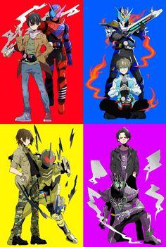 xion by ~semokan on deviantART Kamen Rider Decade, Kamen Rider Zi O, Kamen Rider Series, Dragon Knight, Gundam Art, Monkey King, Japanese Superheroes, Shows, Rind