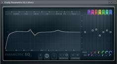 Electronic kick drum compression & EQ