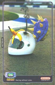 Mario kart Gameboy Advance ad 2001