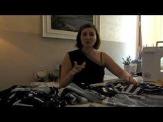 Tutorial- come realizzare un maxi abito estivo senza cartamodello / maxi dress - YouTube