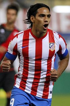 Radamel Falcao has transferred over to Manchester United. He will have to fight for the striker position with Robin Van Persie.