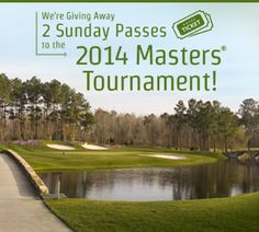 Enter to Win Two 2014 Masters® Tournament Sunday Passes & a Southern Hospitality Package!