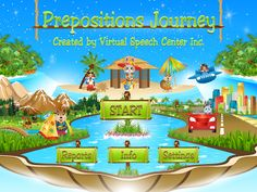 Preposition Journey! ((app review))   - repinned by @PediaStaff – Please Visit  ht.ly/63sNt for all our pediatric therapy pins