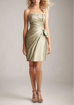 Short Champagne Bridesmaid Dresses For Women 6106058 - 6106058 - Bridesmaid Dresses