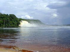 Lagoon's Fall - Canaima National Park, Venezuela