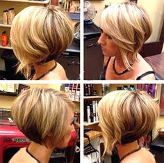 layered-wavy-bouncy-bob-hairstyle-girl | Best Hairstyles Design - most popular hairstyles