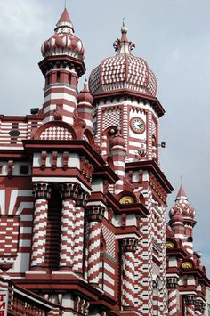 Jami Ul Alfar Masjid, Colombo, Sri Lanka