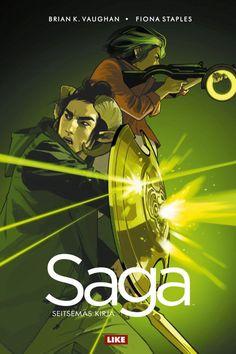 Saga: Seitsemäs kirja (Saga, #7) - Brian K. Vaughan, Fiona Staples :: Julkaistu 12.12.2017 #scifi #avaruusooppera #sarjakuva