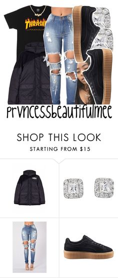 """""""〽️"""" by prvncessbeautifulmee ❤ liked on Polyvore featuring Hood by Air and Puma"""