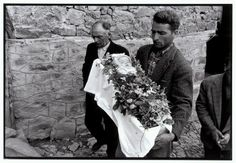 Constantine Manos Greece. Epirus. Metsovo. 1964. Funeral of an infant.