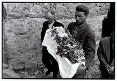 Constantine Manos Greece. Epirus. Metsovo. 1964. Funeral of an infant.