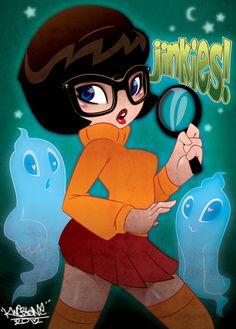 Velma dinkley ravaged from behind
