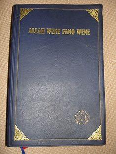 Bible in Yali Language / Allah Wene Fano Wene dalam Bahasa Yali Selatan / In Today's South Yali Version / Yali is a Papuan language of Indonesian New Guinea