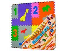 Tapete Brinque Números - Mingone com as melhores condições você encontra no Magazine Anade1979. Confira!