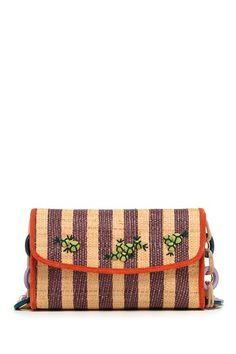 M Missoni Straw Handbag