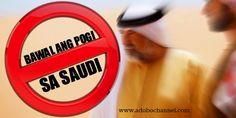 Bawal Ang Pogi Sa Saudi!
