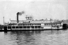 Mosquito Fleet steamship, circa 1920? City Lights, Pacific Northwest, North West, Seattle, Transportation, Image