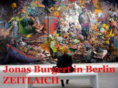 MetropolisBlues, ZeitBilder und Texte, Kunstblog von Fred Tille, Malerei: Herrliches Desaster | Jonas Burgert in Berlin