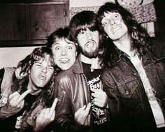 James Hetfield, metallica, and cliff burton Bild