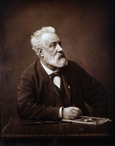 Picture of Jules Gabriel Verne (8 February 1828 – 24 March 1905), a French novelist, poet, and playwright best known for his adventure novels and his profound influence on the literary genre of science fiction.