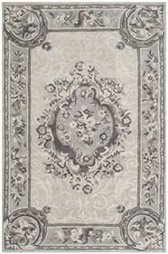 Safavieh Empire Collection EM414D Handmade Traditional European Beige and Light Grey Premium Wool Area Rug 2 x 3 -- Be sure to check out this awesome product.