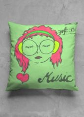 A beautiful and unique square pillow that is perfect for your collection! Shop artistic square pillow's created by designers all around the world. Pillows, Unique, Music, Artist, Fictional Characters, Beautiful, Collection, Design, Musica