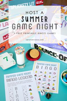 Game Night Ideas + F