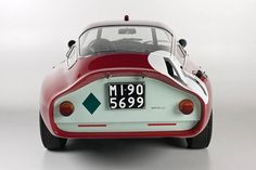 To know more about Alfa Romeo TZ Coupe, visit Sumally, a social network that gathers together all the wanted things in the world! Featuring over 598 other Alfa Romeo items too! Luxury Sports Cars, Classic Sports Cars, Sport Cars, Classic Cars, Motor Sport, Carros Alfa Romeo, Alfa Romeo Cars, Ferrari, Cars Motorcycles