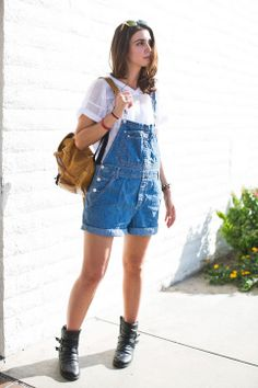 11 Fashion Dos & Don'ts of Summer 2014 DO try overalls Overalls are no longer just for kids—they're a great way to update your shorts collection. Style them with anything from a button-down to a tank top. Most important, find a fit and length that flatters you. >>>...and that is a totally ROCKIN backpack!!!