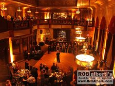 The Society Room Hartford CT Wedding Reception Lighting -  www.robalberti.com0 IMG_1187