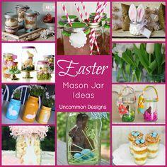 10 Easter Mason Jar Ideas - Uncommon Designs...