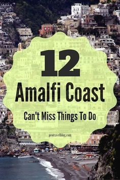 A visit to Italy is not complete without a tour of the Amalfi Coast. Check out these 12 best things to do in Amalfi Coast Italy. Click here to see them. #ItalyTravel