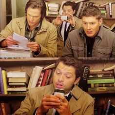 I just like Dean's and Sam's faces in the top picture :)