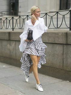 Fashion weeks street style
