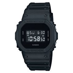 b81589bd919 G-Shock  DW-5600BB-1CR Specials Watch - Black Relogio Casio G