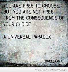 A universal paradox
