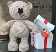 Amigurumi Bear Pattern Crochet Bear Pattern by VenelopaTOYS