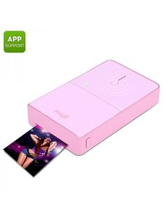 Pringo P232 Portable Wi-Fi Photo Printer Photo Printer, Wi Fi, Cell Phone Accessories