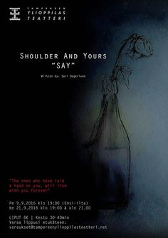 "Hiustaidetta - Uuden alku: Shoulder And Yours""SAY"" <!--[if gte mso 9]>    <![..."