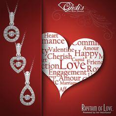 Gorgeous Diamond necklaces for your Valentine by Rhythm of Love! #ValentinesDay #RhythmofLove #necklaces #diamond