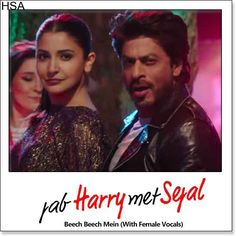http://hindisingalong.com/beech-beech-mein-with-female-vocals-jab-harry-met-sejal.html  Name of Song - Beech Beech Mein (With Female Vocals) Album/Movie Name - Jab Harry Met Sejal Name Of Singer(s) - Arijit Singh, Shalmali Kholgade, Shefali Alvares Released in Year - 2017 Music Directo...