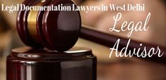Bhasin consultancy is here to assist you withLegal Documentation Lawyers inn West Delhifor your personal and your financial stakes.