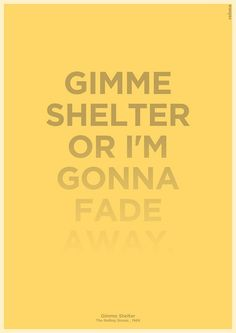 The Rolling Stones - Gimme Shelter - 1969 ~~own Album = Let It Bleed Song Lyrics