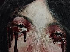 Find images and videos about art, grunge and painting on We Heart It - the app to get lost in what you love. Creepy, Alice Madness Returns, John Bauer, The Rocky Horror Picture Show, Arte Horror, Horror Art, Red Aesthetic, Aesthetic Makeup, Aesthetic Grunge